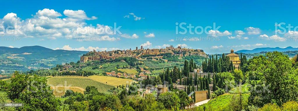 Old town of Orvieto, Umbria, Italy stock photo