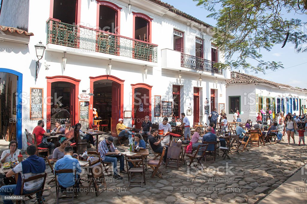Old Town of Paraty - Brazil stock photo