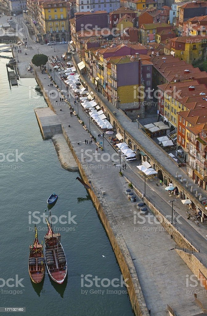 old town of Porto, Portugal stock photo