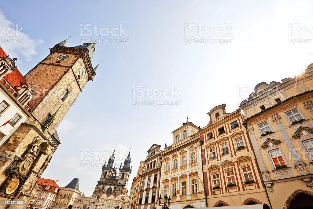 old town of Prague royalty-free stock photo