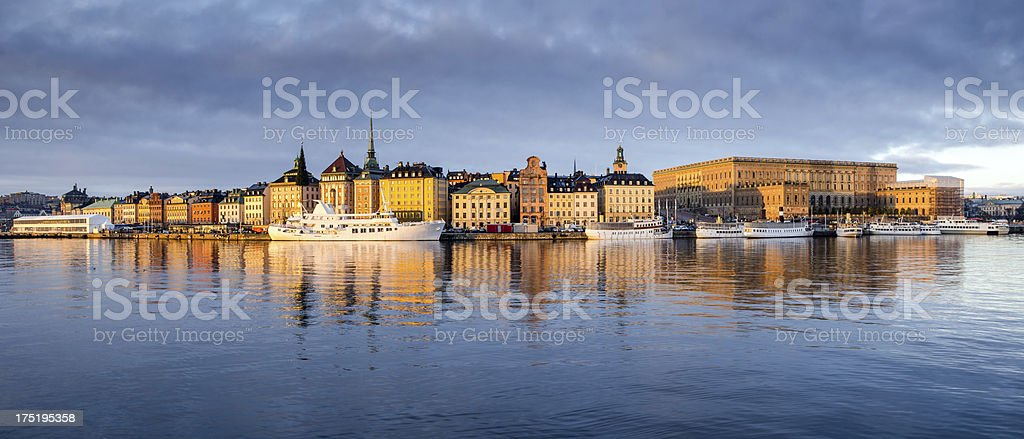 Old Town of Stockholm royalty-free stock photo