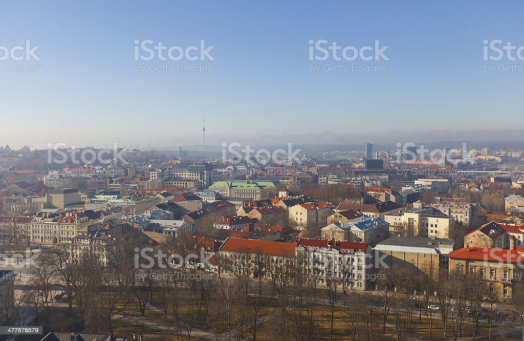 Old town of Vilnius, Lithuania royalty-free stock photo