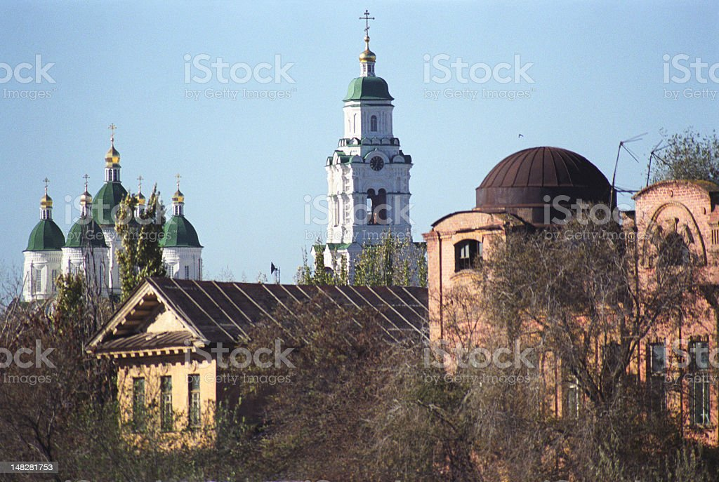 Old Town. stock photo