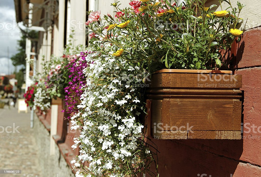 Old town. royalty-free stock photo