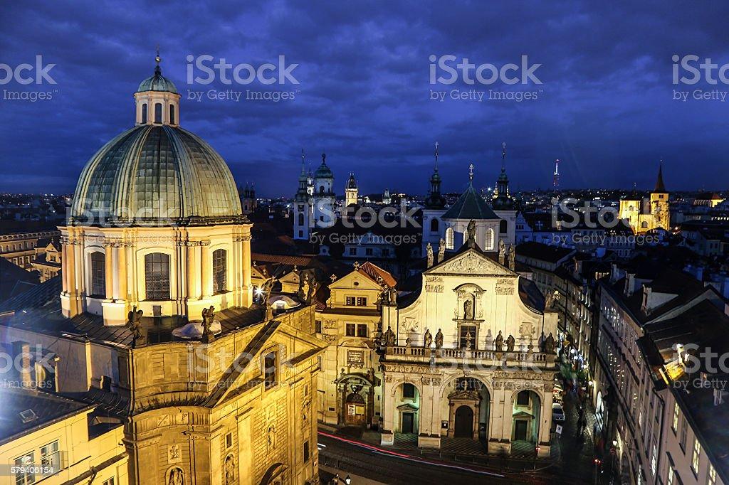 Old Town Prague stock photo