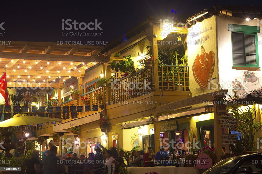 Old Town San Diego royalty-free stock photo