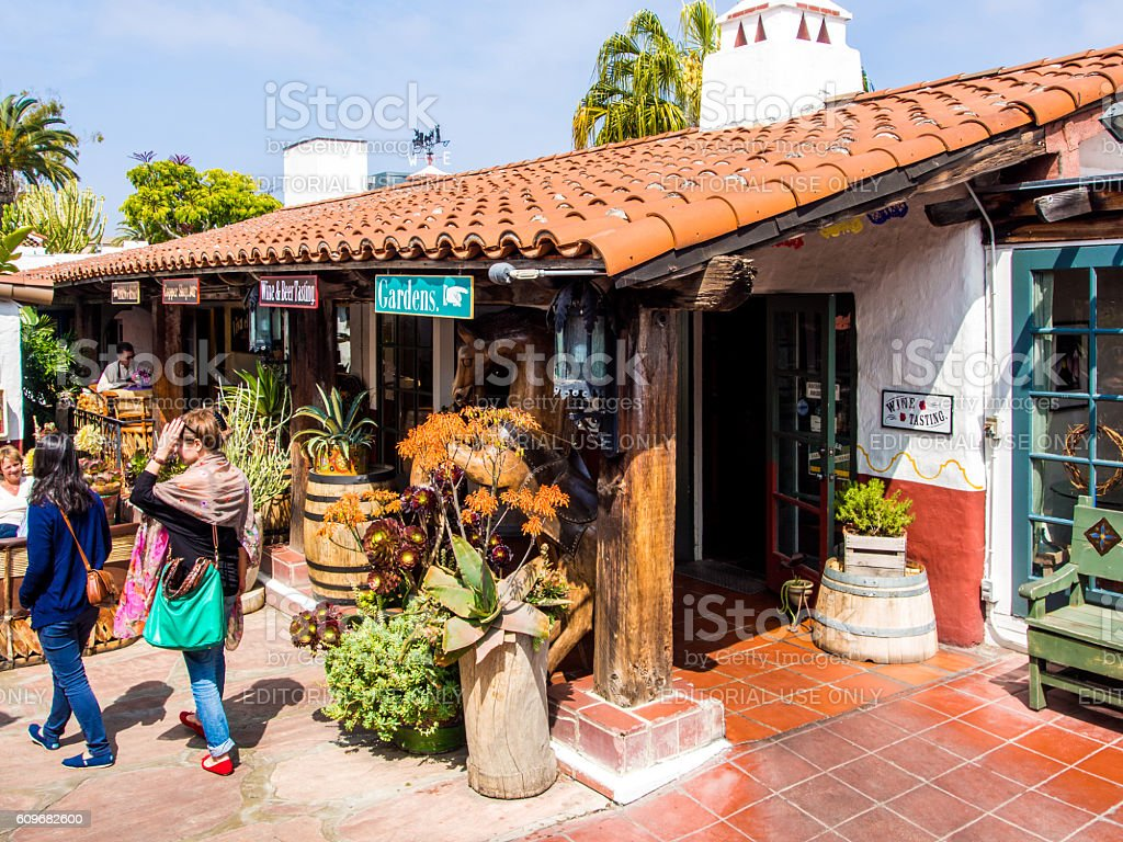 Old Town San Diego stock photo