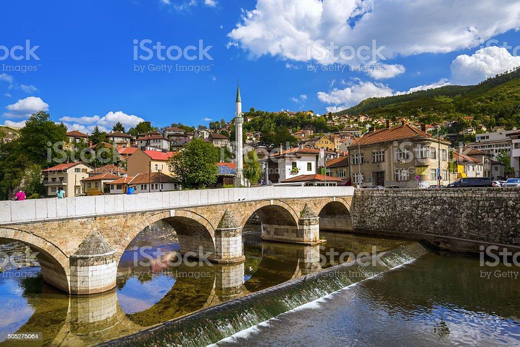 Old town Sarajevo - Bosnia and Herzegovina stock photo