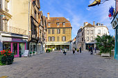 Old town scene in Auxerre