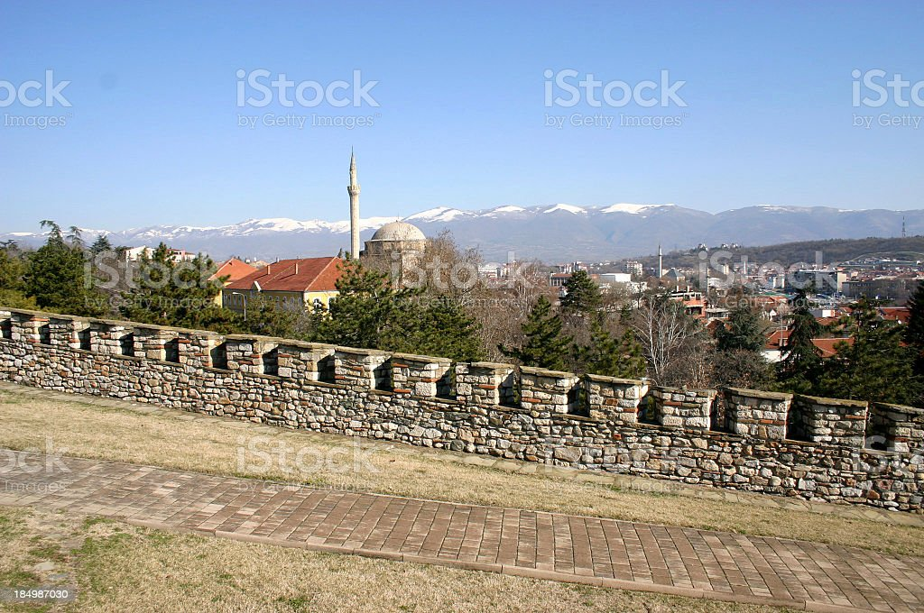 Old Town Skopje royalty-free stock photo