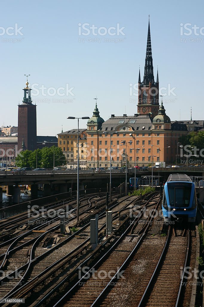 Old Town station royalty-free stock photo