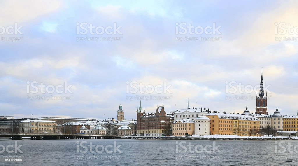 Old Town Stockholm Sweden royalty-free stock photo