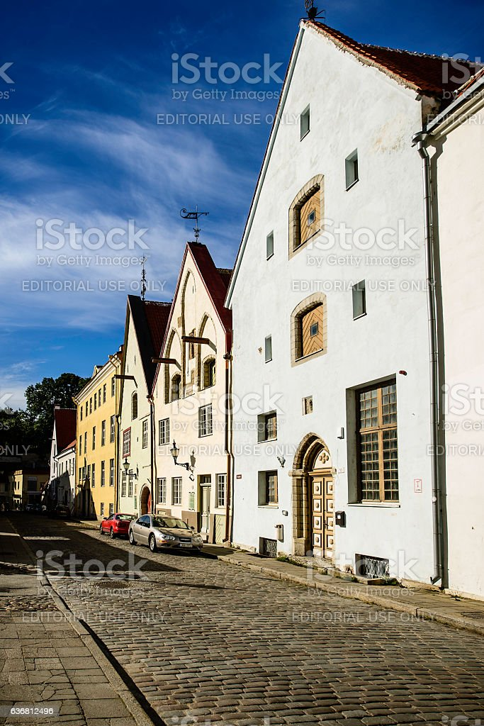 Old Town, Tallinn, Estonia stock photo