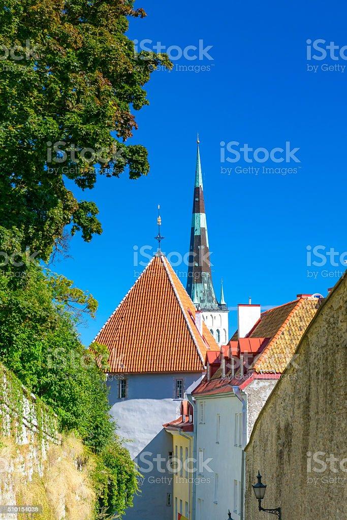 Old Town Tallinn stock photo