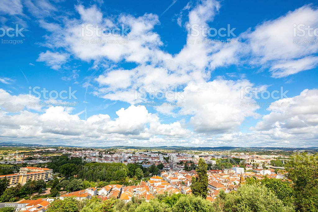 Old Town Tomar, Portugal stock photo