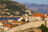 Old town walls of Dubrovnik, Croatia