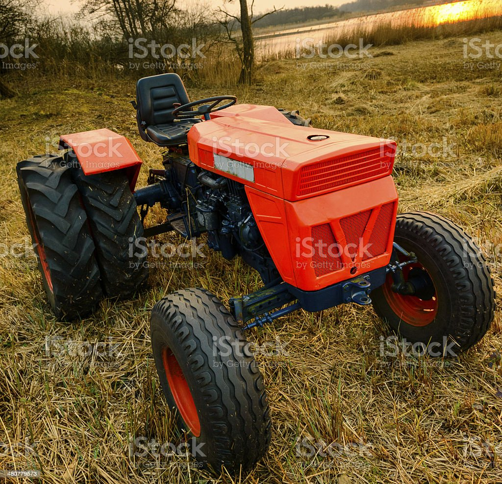 Old Tractor royalty-free stock photo