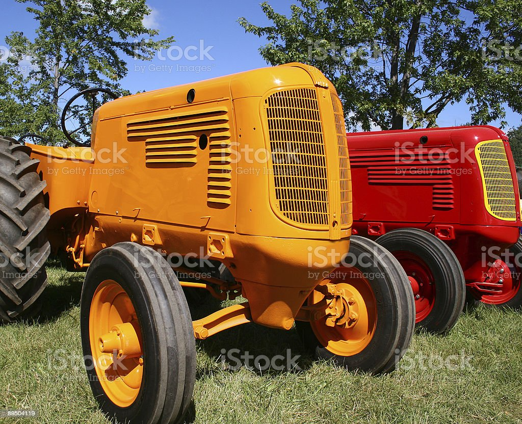 old tractors royalty-free stock photo