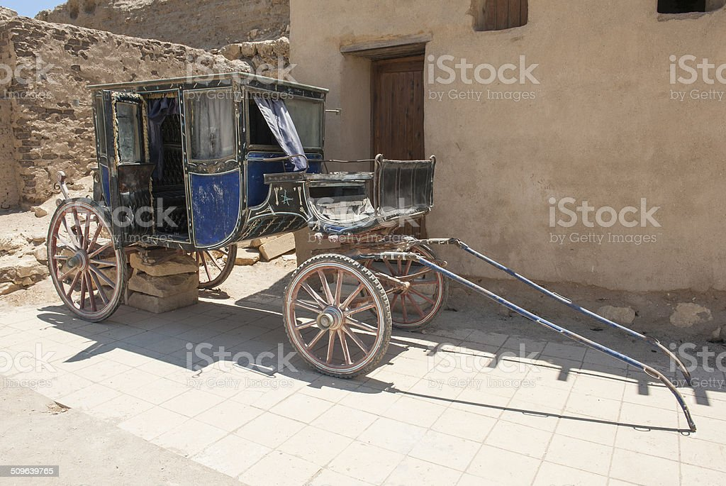 Old traditional egyptian galesh stock photo