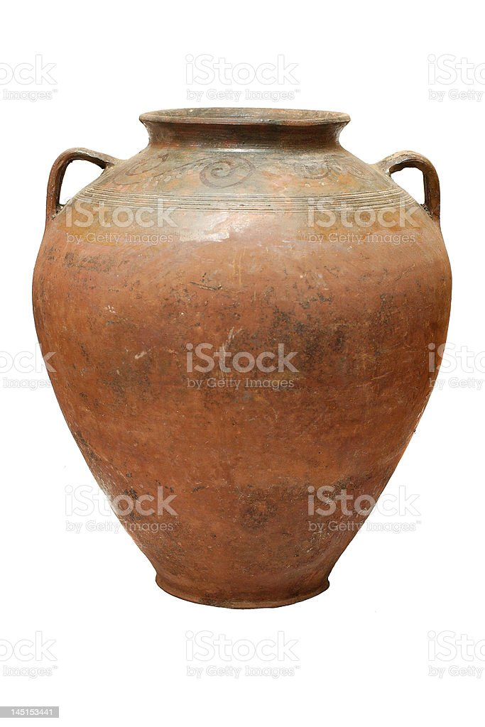Old traditional pot royalty-free stock photo