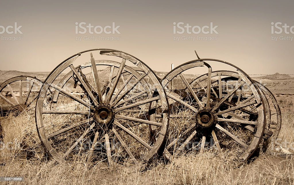 Old Trail town royalty-free stock photo
