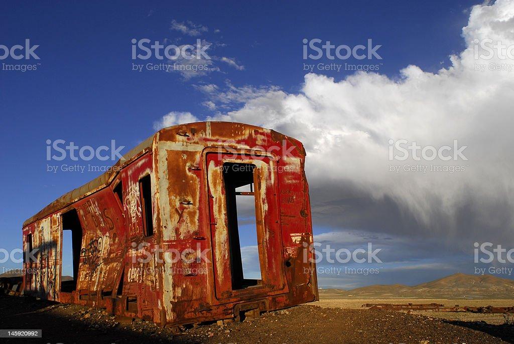 Vieux train Transport photo libre de droits