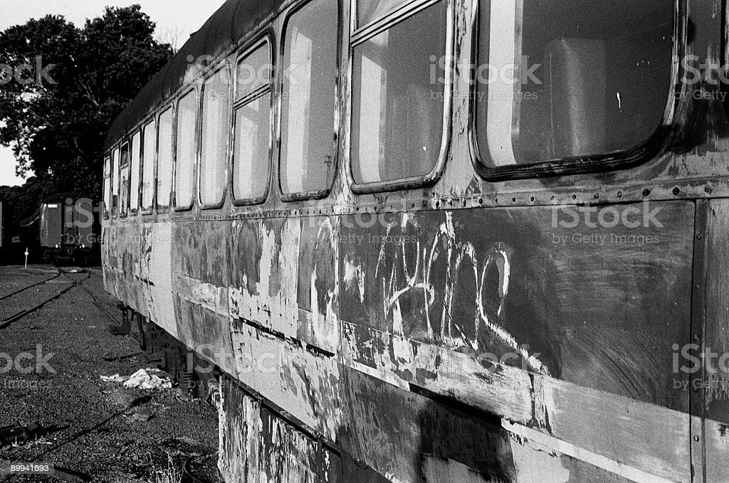 Old train carriage royalty-free stock photo