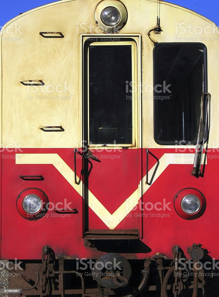 Old Train Carriage stock photo