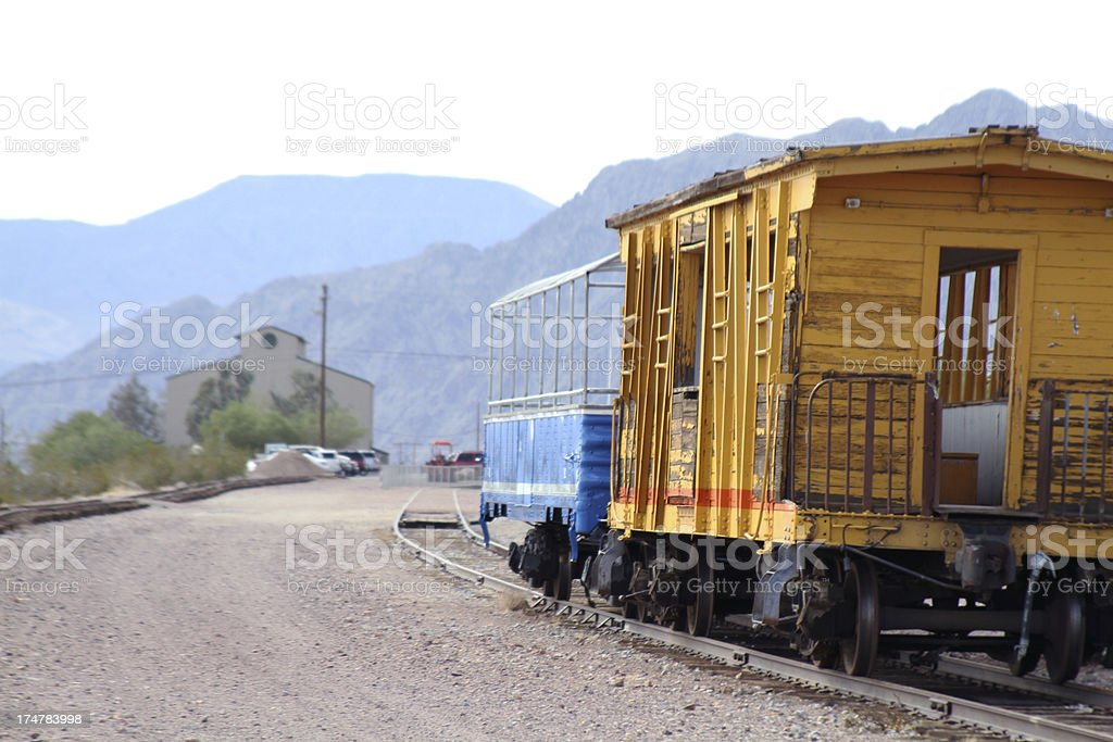Old train station royalty-free stock photo