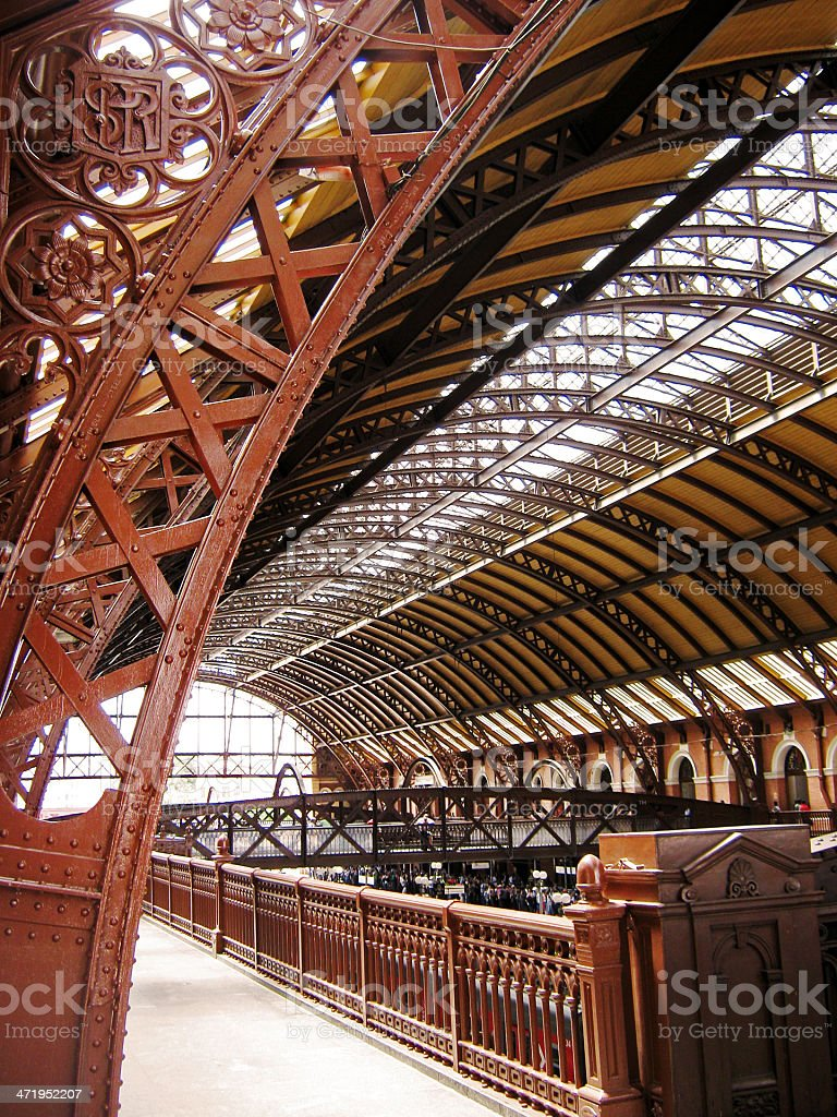 old train station stock photo