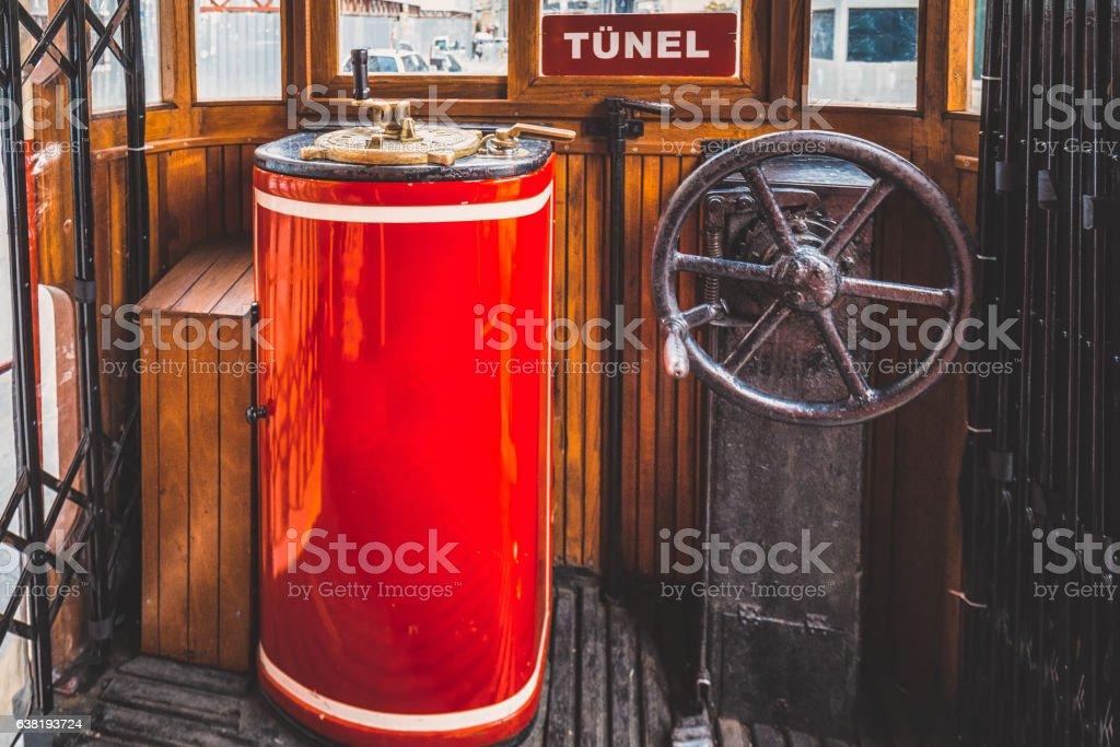 Old tram stock photo