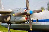 Old transport plane