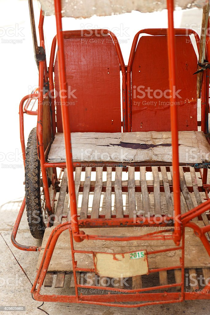 old tricycle II-sipalay stock photo