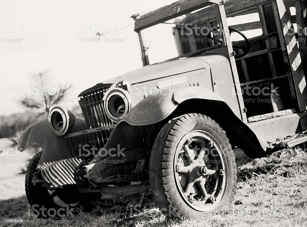 Alten Truck Lizenzfreies stock-foto