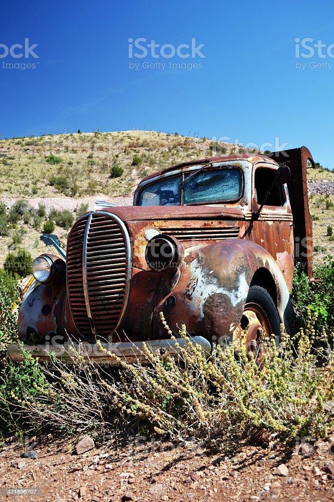 旧トラック ロイヤリティフリーストックフォト