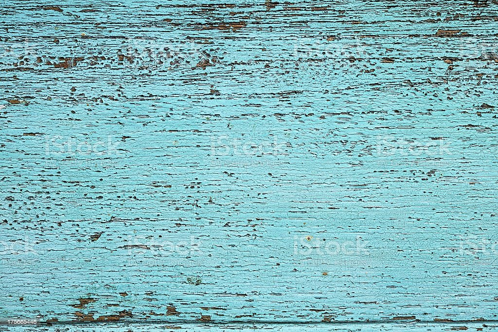 Old turquoise wooden background. royalty-free stock photo