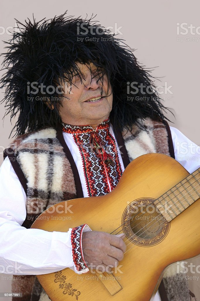 Old ukranian man (REQUEST) stock photo