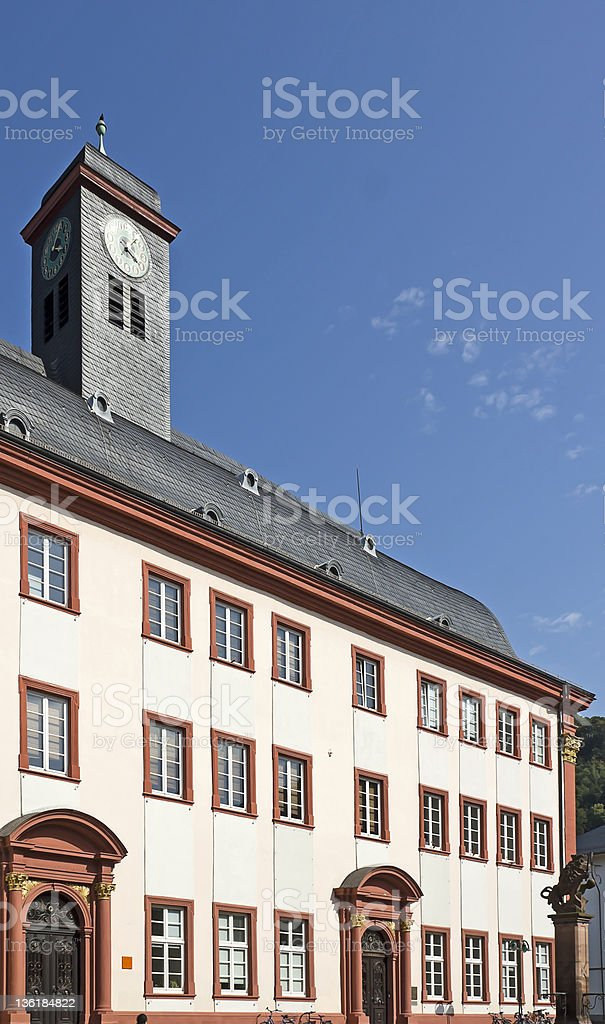 旧大学ハイデルベルク ロイヤリティフリーストックフォト