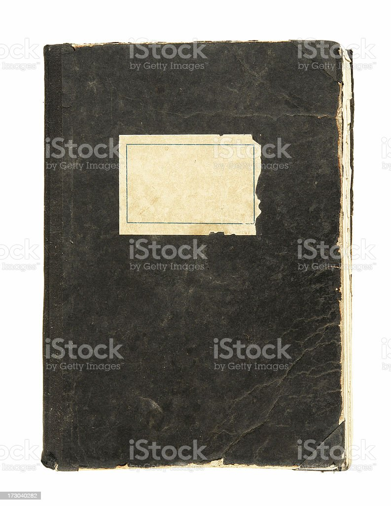 Old Used Exercise Book royalty-free stock photo