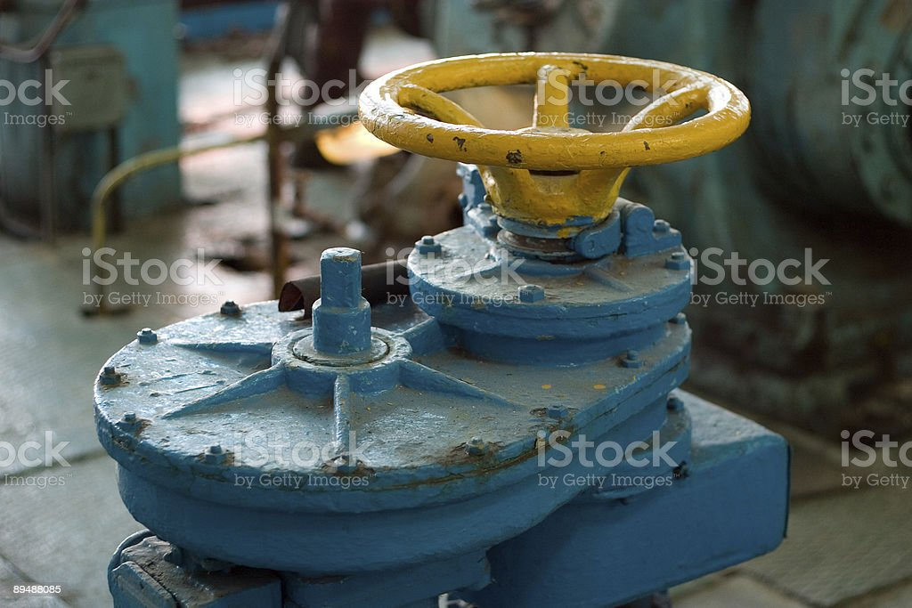 old valve royalty-free stock photo