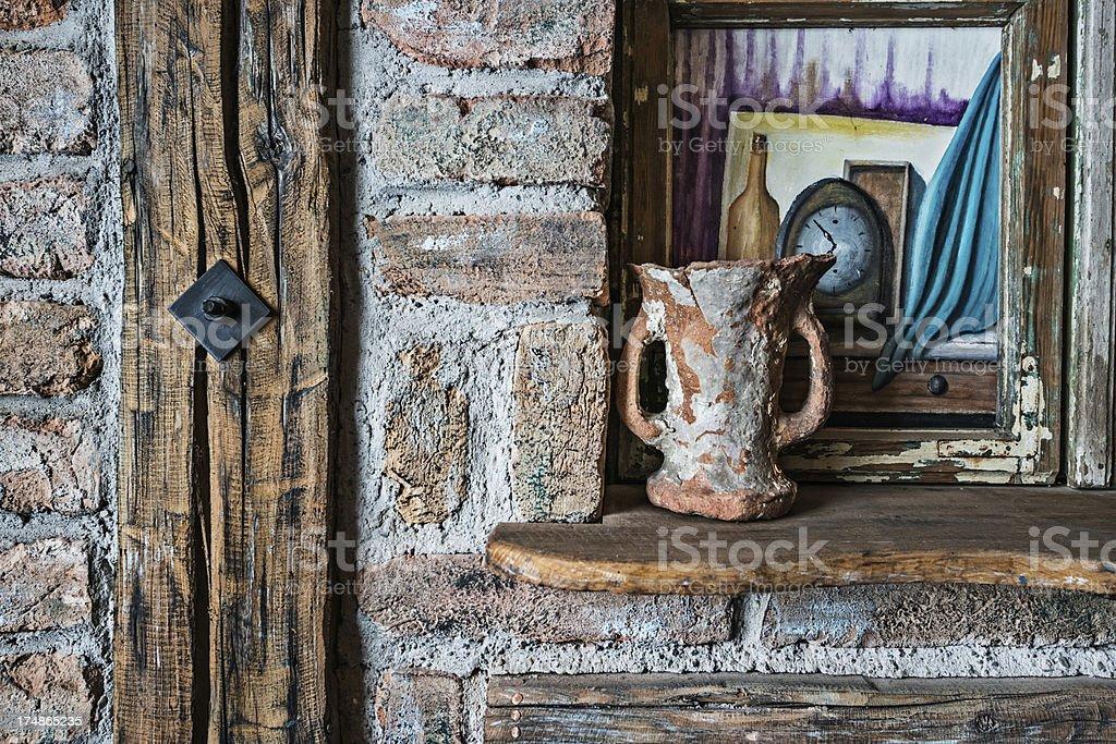 Old vase royalty-free stock photo