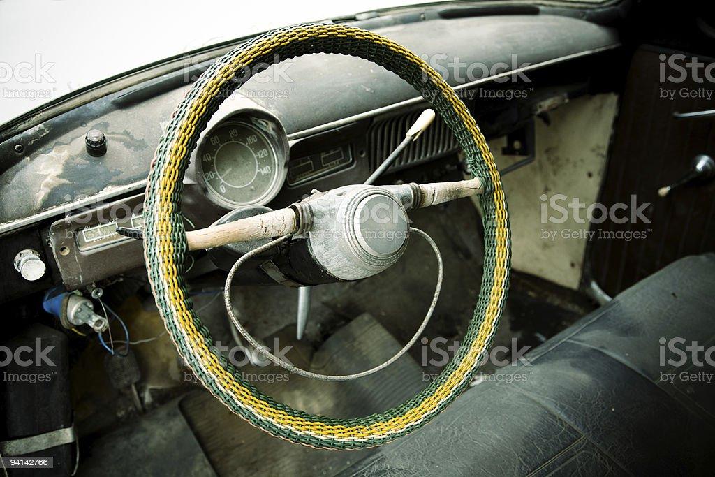 old vehicle royalty-free stock photo