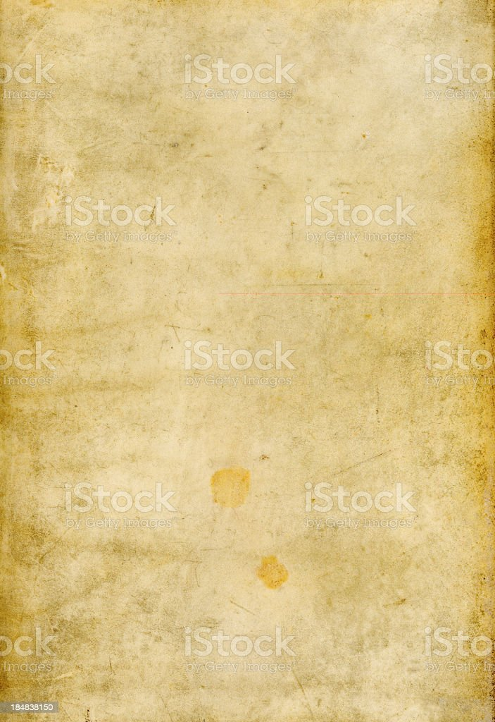 Old Vellum Parchment Texture royalty-free stock photo