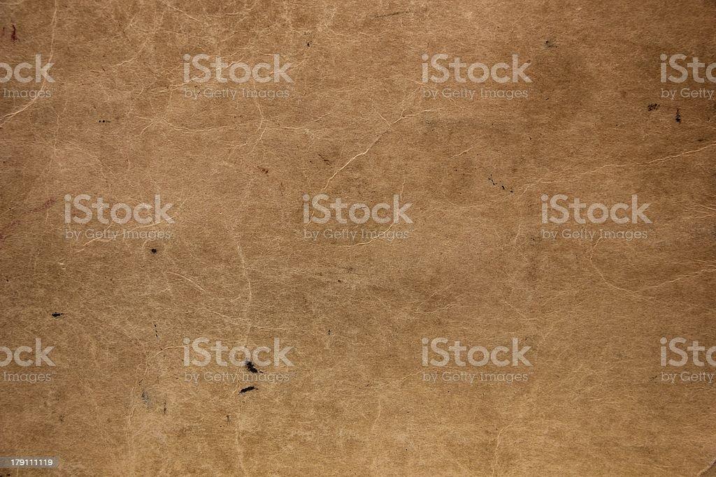 Old Vellum Texture royalty-free stock photo
