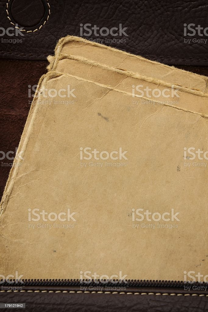 Old Vellum Texture royalty-free stock photo