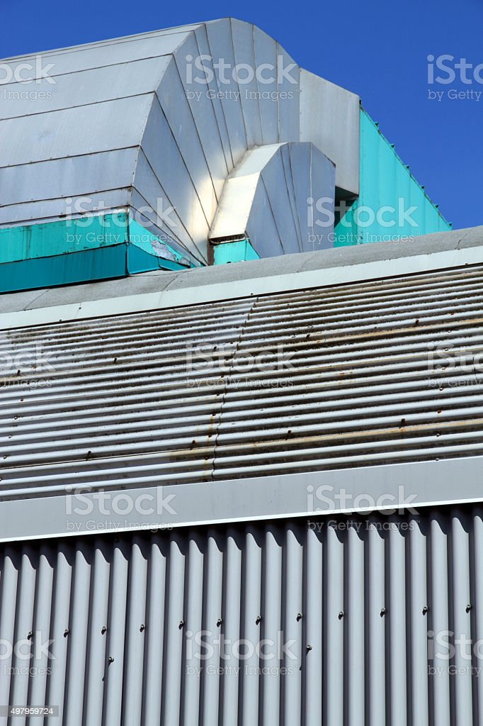 Old Vent stock photo