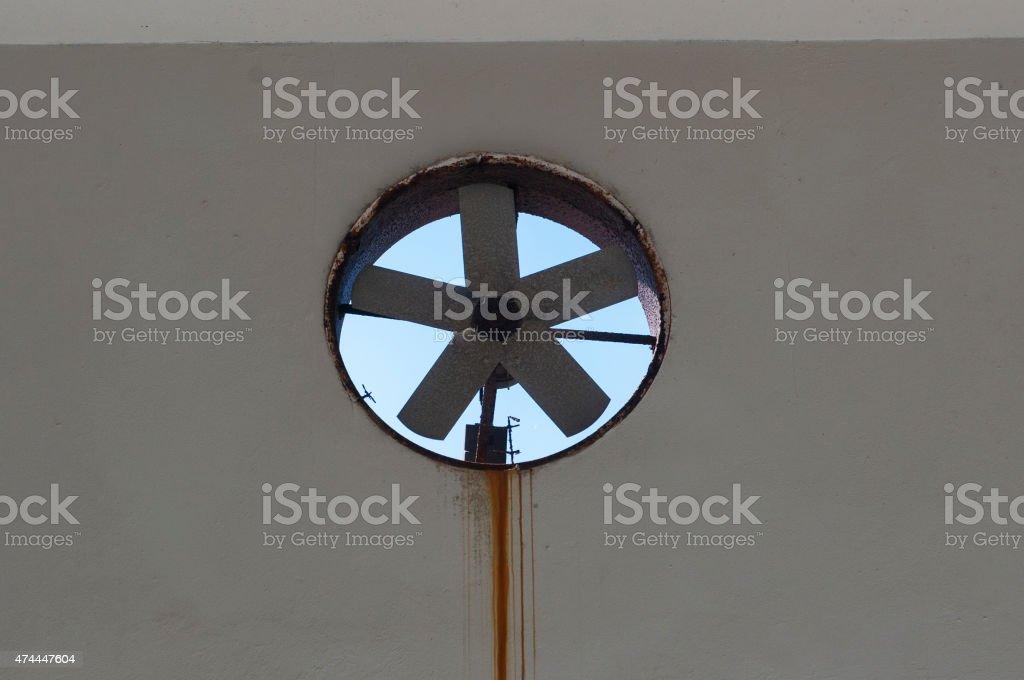 Old Ventilator stock photo