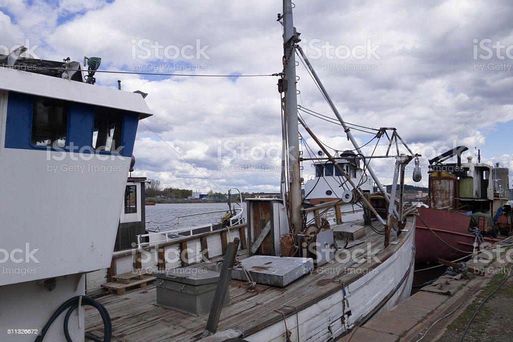 Old Vessel stock photo