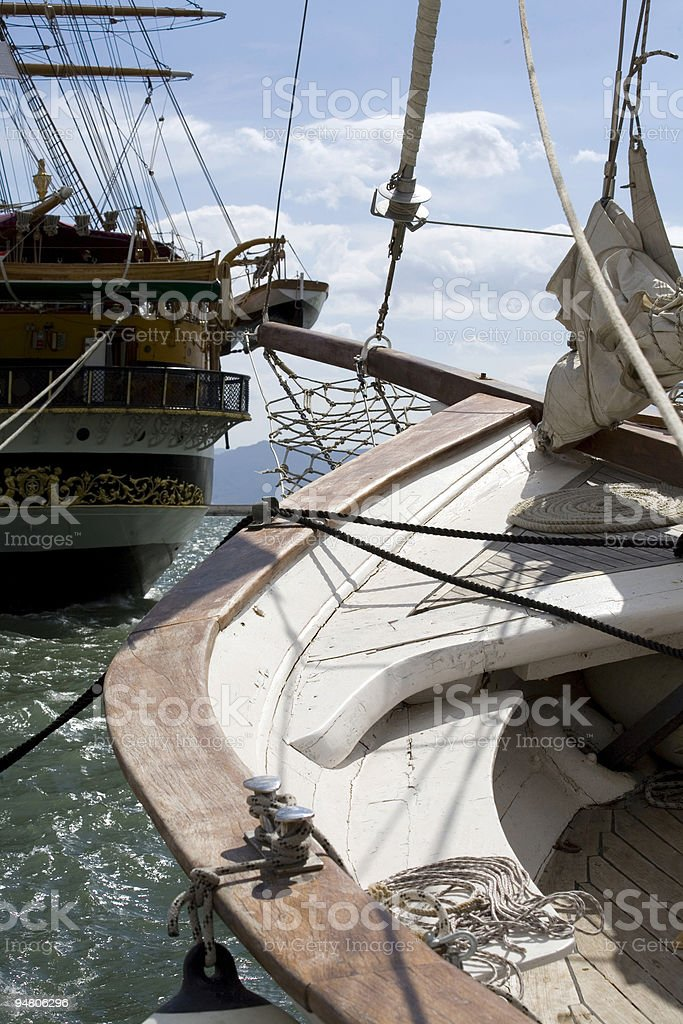 old vessels royalty-free stock photo