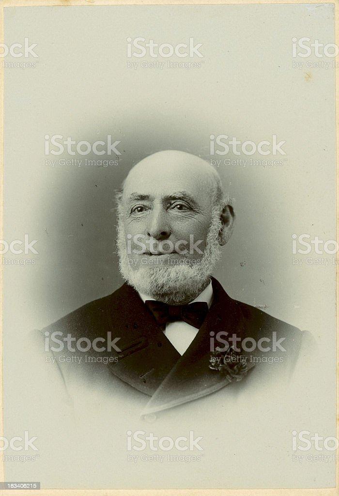 Old Victorian Gentleman royalty-free stock photo